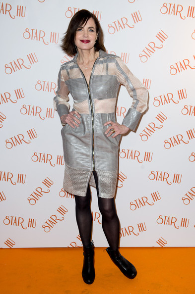 Elizabeth McGovern Shirtdress