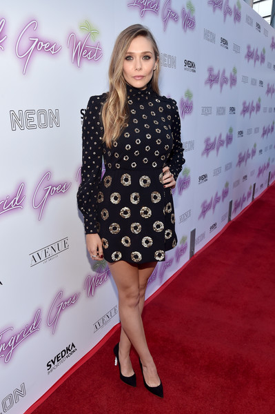Elizabeth Olsen Sequin Dress