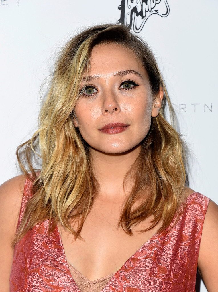 Elizabeth Olsen Cat Eyes Beauty Lookbook Stylebistro