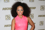 Elle Varner Leather Dress