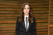 Ellen Page Leather Pants