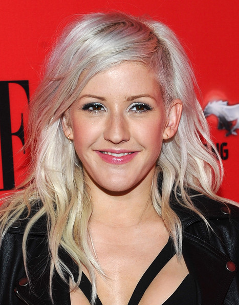 Ellie Goulding Metallic Eyeshadow