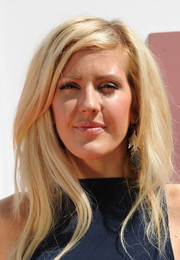 Ellie Goulding sported a hip layered cut during the opening of the British Designers Collective.