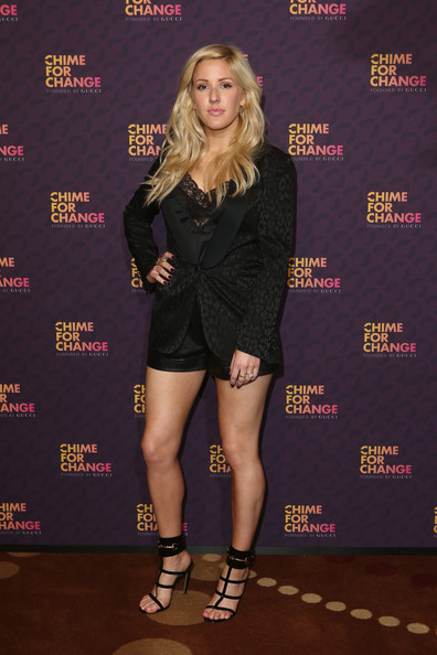 Ellie Goulding Short Suit