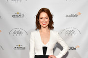 Ellie Kemper  Box Clutch
