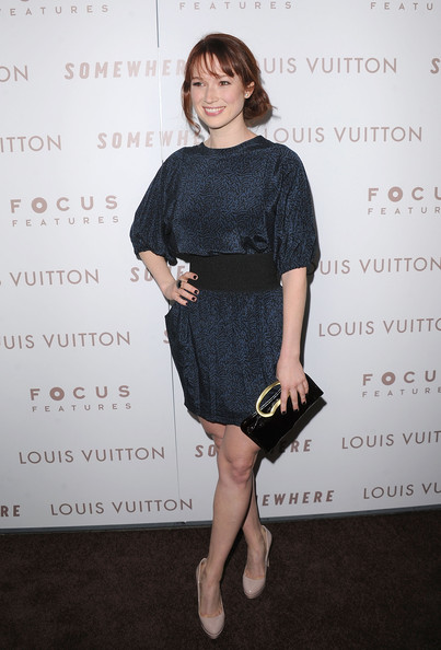 Ellie Kemper Patent Leather Clutch