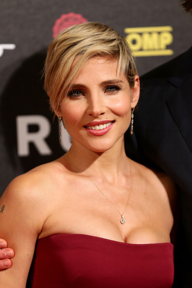 Elsa Pataky Short Side Part [hair,face,hairstyle,eyebrow,blond,lip,chin,beauty,skin,shoulder,rush the movie rome premiere,movie rome premiere,rome,italy,auditorium della conciliazione,elsa pataky]
