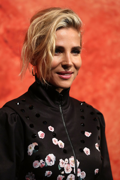 Elsa Pataky Messy Updo [mercedes-benz presents camilla and marc - arrivals,elsa pataky,mercedes-benz presents camilla and marc,hair,hairstyle,blond,mercedes-benz fashion week,mercedes-benz fashion week resort 19 collections,royal hall of industries,australia,sydney]