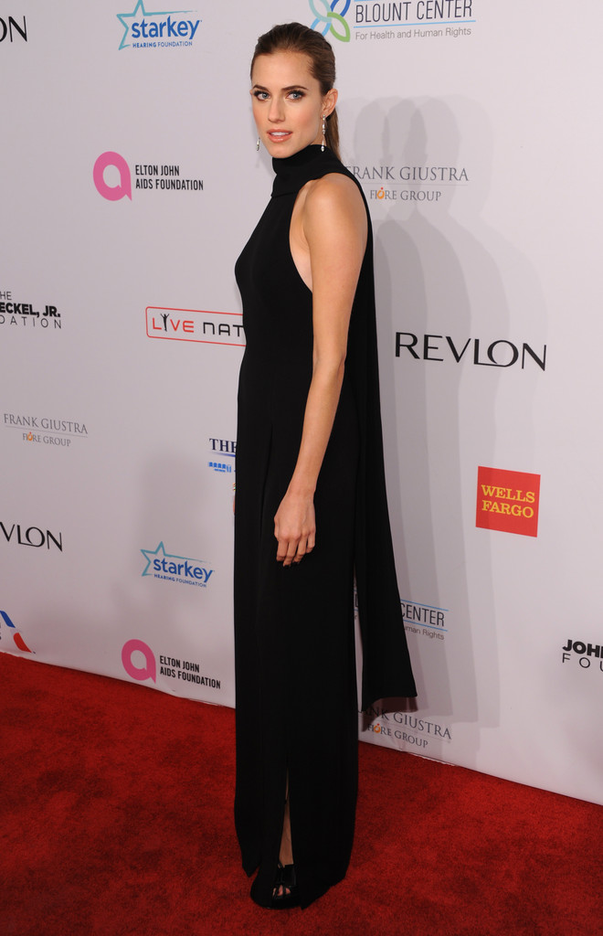 Arrivals at Elton John AIDS Foundation Benefit