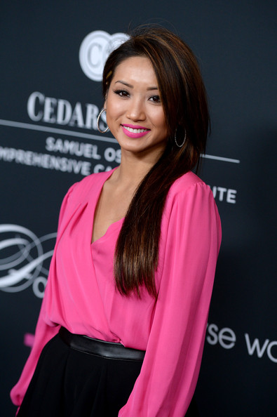 More Pics of Brenda Song Loose Blouse (1 of 10) - Tops Lookbook - StyleBistro