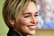 Emilia Clarke Layered Razor Cut