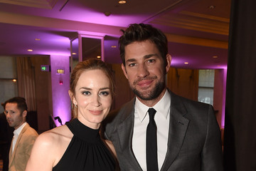 Emily Blunt John Krasinski Hollywood Foreign Press Association Hosts Annual Grants Banquet