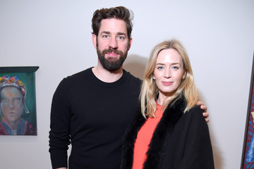 Emily Blunt John Krasinski 'Final Portrait' New York Screening - After Party