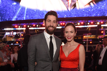Emily Blunt John Krasinski '13 Hours: The Secret Soldiers of Benghazi' - Dallas Premiere