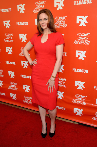 Emily Deschanel Day Dress