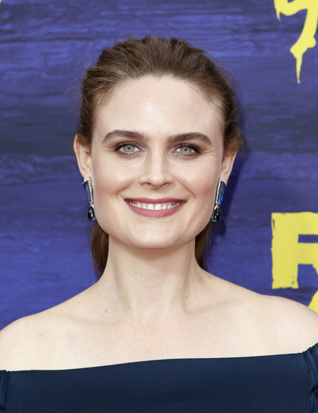 Emily Deschanel Ponytail