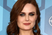 Emily Deschanel Medium Curls