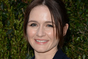 Emily Mortimer Bobby Pinned updo