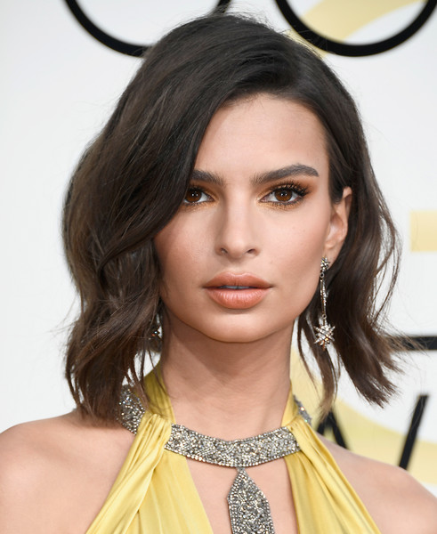 Emily Ratajkowski Star Dangle Earring