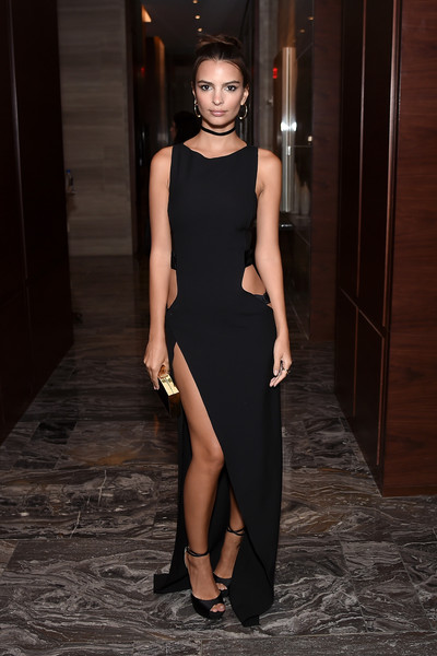 Emily Ratajkowski Cutout Dress