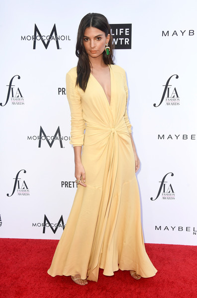 Emily Ratajkowski Evening Dress