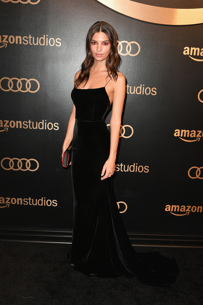 Emily Ratajkowski Fishtail Dress