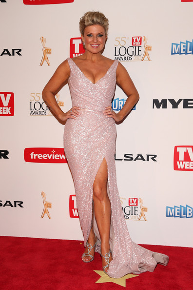 Emily Symons Beaded Dress