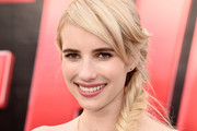 Emma Roberts Long Braided Hairstyle