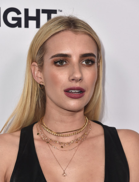 Emma Roberts Long Straight Cut