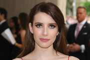 Emma Roberts Long Side Part