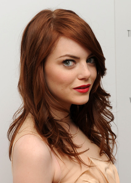 Emma Stone Long Curls