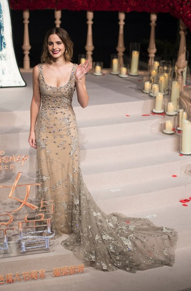 Emma Watson Beaded Dress