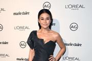 Emmanuelle Chriqui One Shoulder Dress