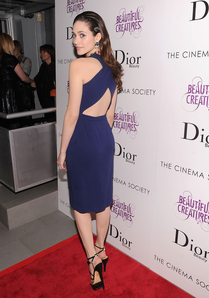 Emmy Rossum Cocktail Dress