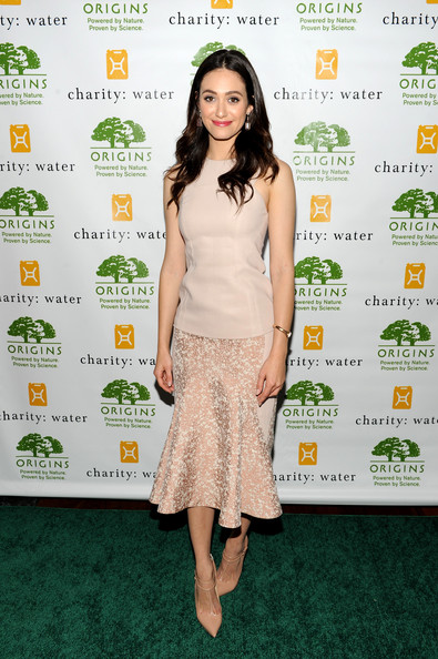 Emmy Rossum Pumps