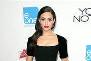 Emmy Rossum Little Black Dress