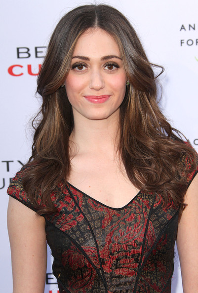 Emmy Rossum Long Curls