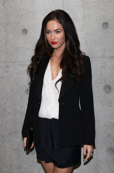 More Pics of Megan Fox Long Curls (1 of 16) - Megan Fox Lookbook - StyleBistro