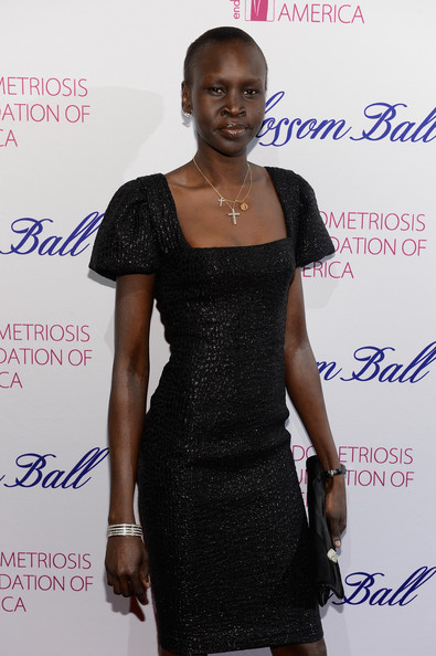 More Pics of Alek Wek Little Black Dress (1 of 6) - Alek Wek Lookbook - StyleBistro