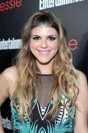 Molly Tarlov wore her hair in boho-chic waves with pinned-back bangs during the Entertainment Weekly SAG nominees celebration.