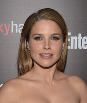 Sophia Bush wore a sleek side-parted hairstyle to the Entertainment Weekly SAG Awards nominee celebration.