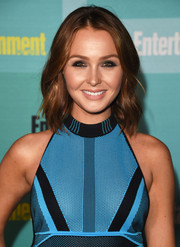 Camilla Luddington kept it simple yet cute with this shoulder-length wavy 'do at the Entertainment Weekly Comic-Con party.