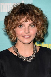 Camren Bicondova looked downright darling with her curled-out bob at the Entertainment Weekly Comic-Con party.