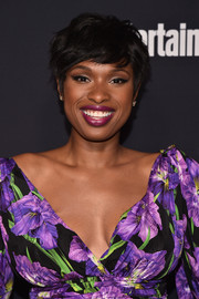 Jennifer Hudson attended the Entertainment Weekly and People Upfronts wearing a cute tousled 'do.