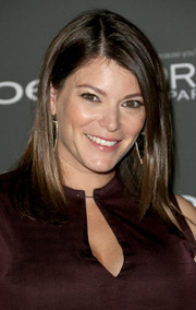 Gale Simmons wore a simple yet stylish straight side-parted 'do at the Entertainment Weekly pre-Emmy party.