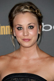 Kaley Cuoco looked adorable at the Entertainment Weekly pre-Emmy party with her lovely braided updo.
