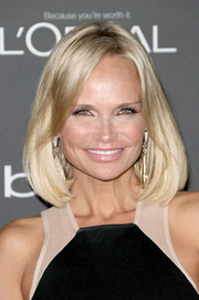 Kristin Chenoweth sported a classic mid-length bob when she attended the Entertainment Weekly pre-Emmy party.