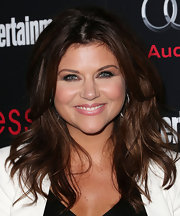 Tiffani Thiessen looked sassy at the Screen Actors Guild Awards pre-party with her hair in tousled layers.