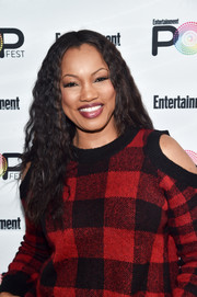 Garcelle Beauvais wore her hair down in tight curls during Entertainment Weekly's PopFest.
