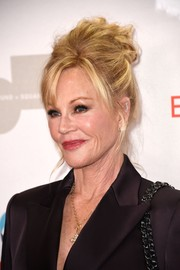 Melanie Griffith sported a messy, teased updo at the Make Equality Reality Gala.